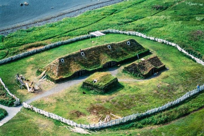 Так, вероятно, выглядело поселение викингов на Ньюфаундленде.